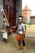 Pilies dvasią perteikia viduramžių riteriai