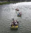 Plaukimas plaustais Dunajeco upe