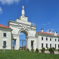 Rūmų ansamblio vartai po renovacijos