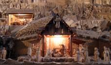 Betliejus pavaizduotas kaip Rajecka Lesna kaimas