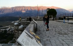 Nuo tvirtovės terasų atsiveria puikūs vaizdai