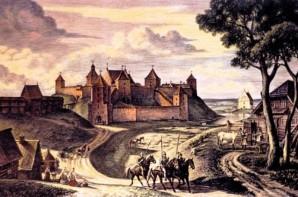 Mūrinė pilis statyta Vytauto valdymo laikais (1392-1430)