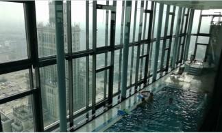 Baseinas ir sūkurinė vonia 43 aukšte